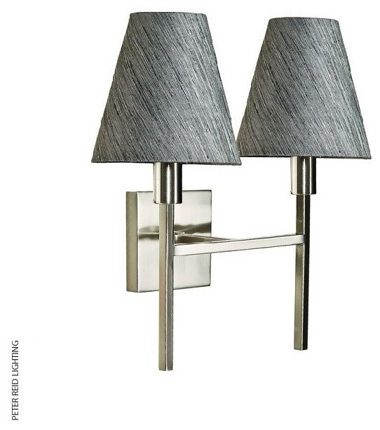 Lucerne Two Light Wall Light Contemporary Wall Lights