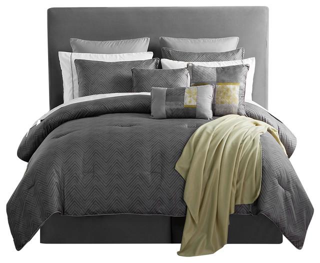 chandler 16 piece comforter set king contemporary