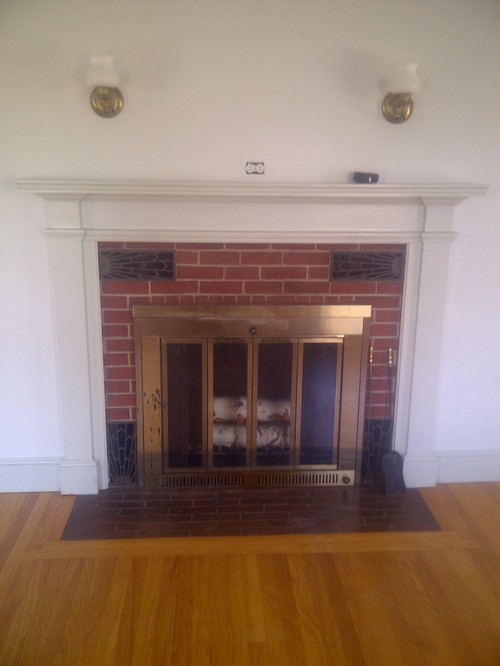 how to build a fireplace in an existing home