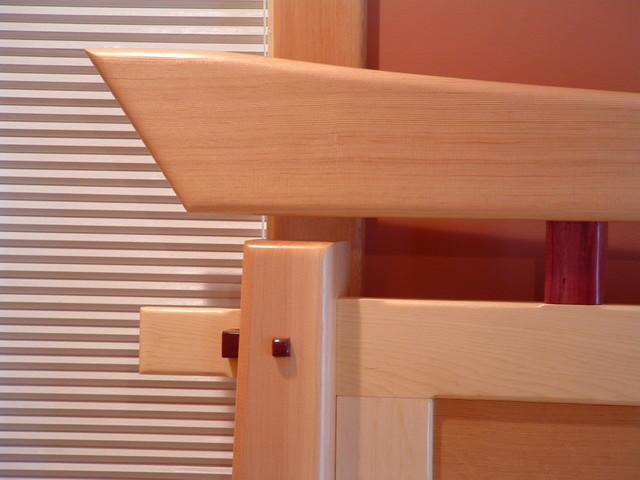 Craftsman Timber Frame Furniture - Asian - Beds - vancouver - by Craftsman Timber Frame Ltd.