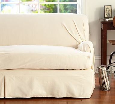 Twill T Arm Cushion Separate Seat Tailored Loose Fit