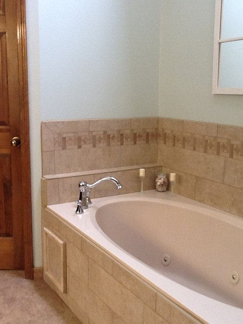 Updated our master bath for Updated master bathrooms
