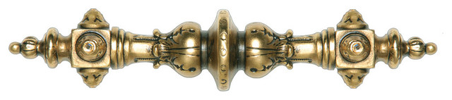 Portobello Road Pulls (24K satin gold) - Traditional - Cabinet And Drawer Handle Pulls - by ...