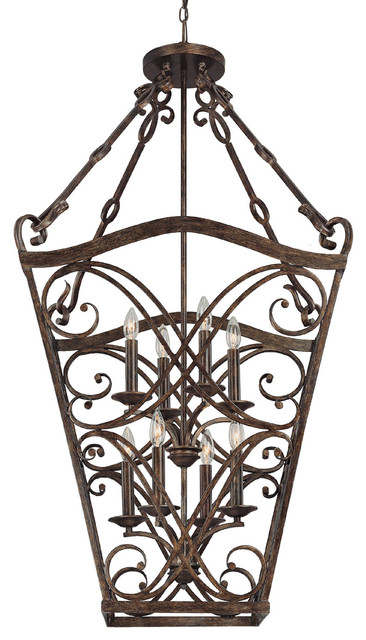 Capital Lighting 9363rt Reserve 8 Light Foyer Fixture