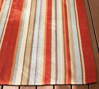 Striped indoor