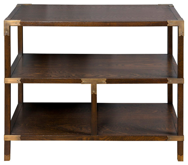Vanguard furniture faris tier table 8513l cp par traditional side tables and end tables by Traditional coffee tables and end tables