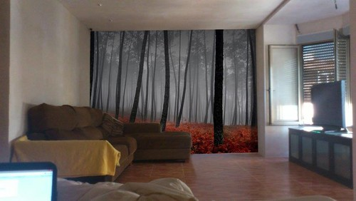 Tv in front of window - Www curtain design picture ...
