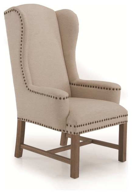 amiens high back wing accent chair traditional