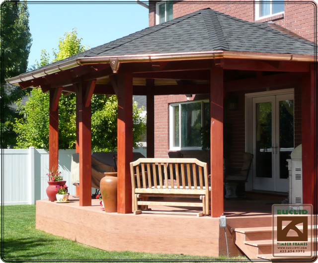 Timber Frame Gazebo Traditional Gazebos Salt Lake