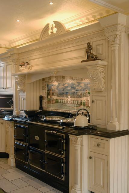 Traditional Victorian Kitchens Victorian Kitchen West Midlands By Broadway Bespoke Kitchens