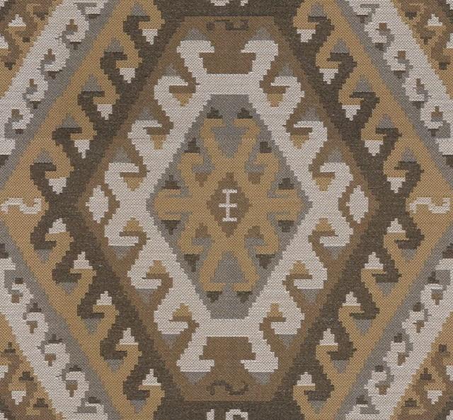 Kravet Couture Fabric Rustic Kilim Saffron 32347.614.0
