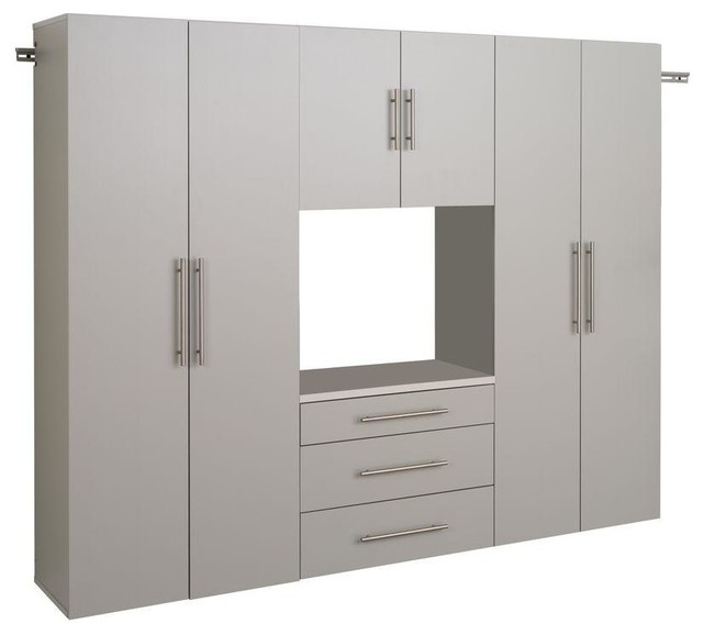 Prepac File & Storage Cabinets HangUps Collection Wall Mount Laminated Storage - Contemporary ...