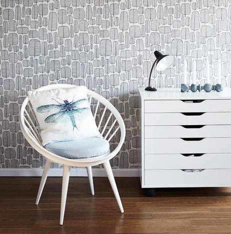 macken in tapeten schnell und einfach selbst ausbessern. Black Bedroom Furniture Sets. Home Design Ideas