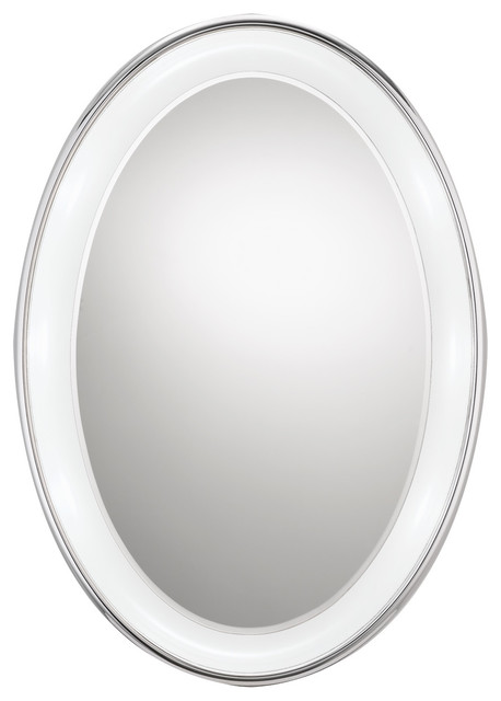 Tigris Oval Mirror by Tech Lighting - Contemporary - Bathroom Mirrors - houston - by ...