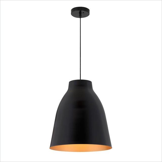 Zuo Modern Bronze Ceiling Lamp Matte Black