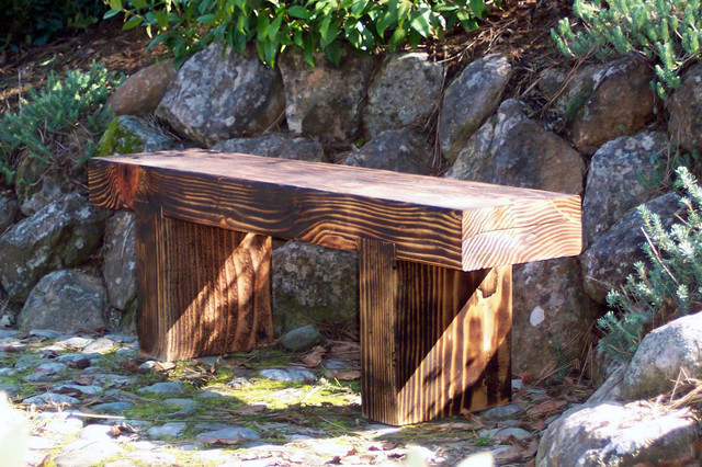 Zen Bench - Small - Rustic - Furniture - San Francisco - by Pick Your Seat