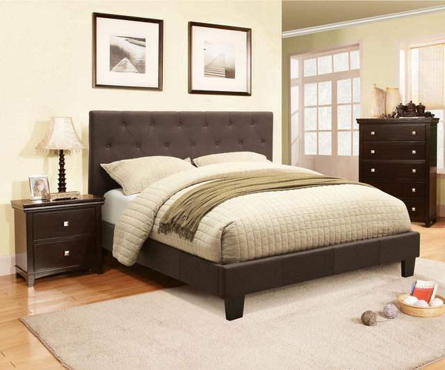 Furniture Of America Perdella 3 Piece Grey Low Profile