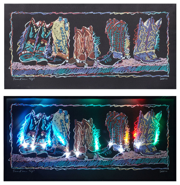 Led Wall Sconces Conceal Hidden Weather Forecast : Led Wall Art - metal wall art with infused color changing led lights - dv8 studio with led ...