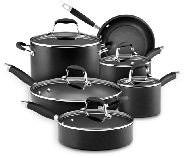 Anolon Advanced Hard Anodized Nonstick 11 Piece Cookware