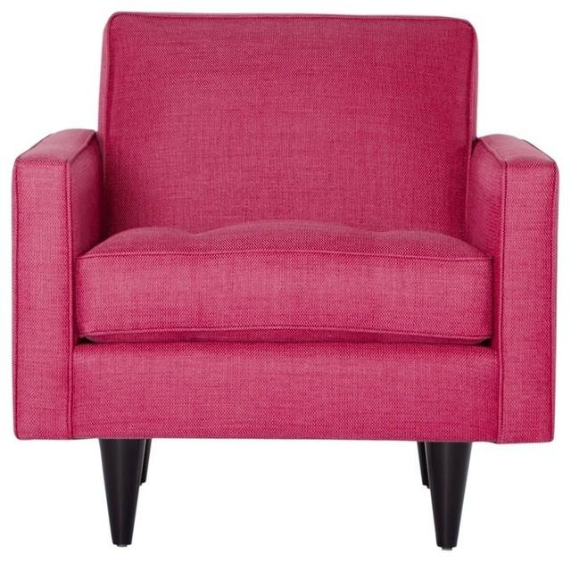 The Monroe Chair Pink Lemonade Modern Armchairs And
