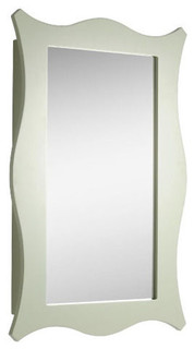 Ferndale Sage Green Portrait Mirror Cabinet Traditional Bathroom Cabinets Other By Bathstore