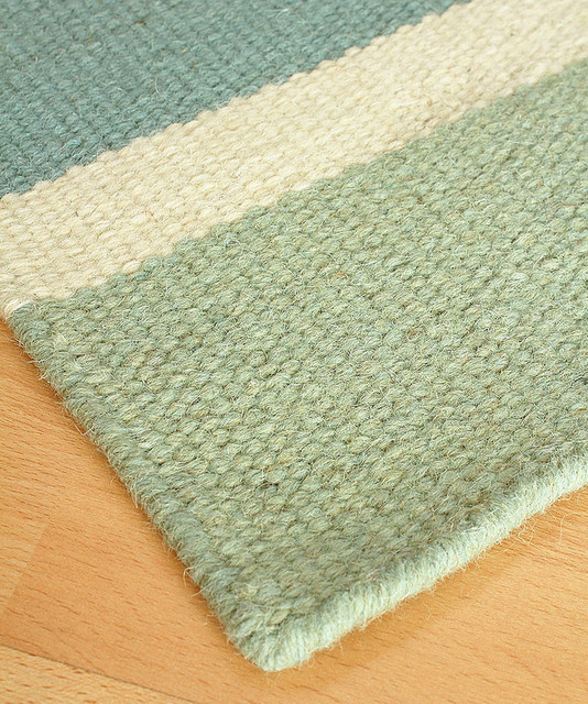 Half moon bay wool berber stripe rug 3 39 x 5 for Wool berber area rug