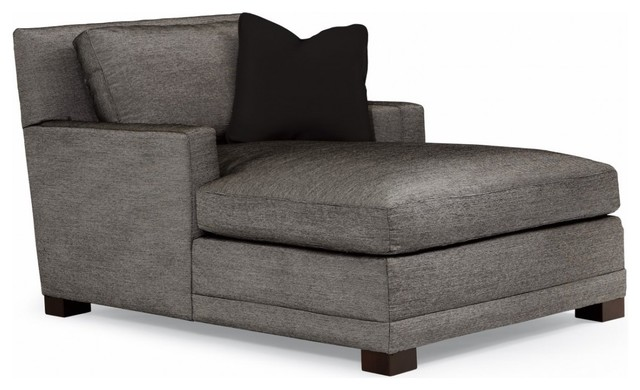 Bernhardt furniture milo chaise modern living room for Bernhardt chaise lounge