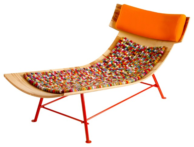 Zeeen Contemporary Indoor Chaise Lounge Chairs other metro by LOPFURN
