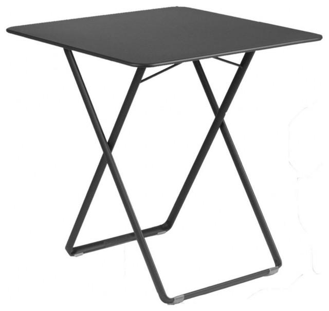 Polyrattan Gartenmobel Bar : Plein Air Tisch Quadratisch  BauhausLook  Outdoor & Gartenmöbel