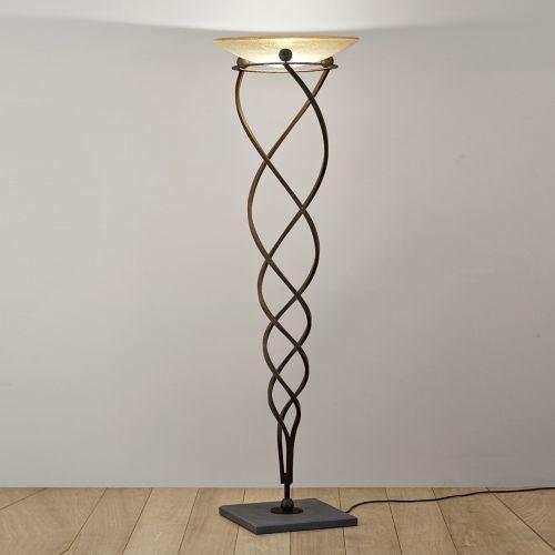 Antinea torchiere floor lamp by terzani modern floor for Contemporary torchiere floor lamps