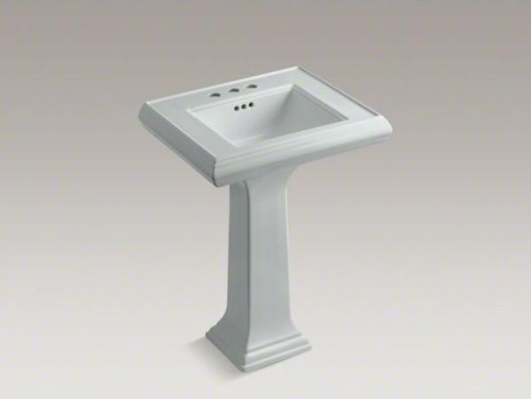 Kohler memoirs r classic 24 pedestal bathroom sink with - Kohler pedestal sinks small bathrooms ...