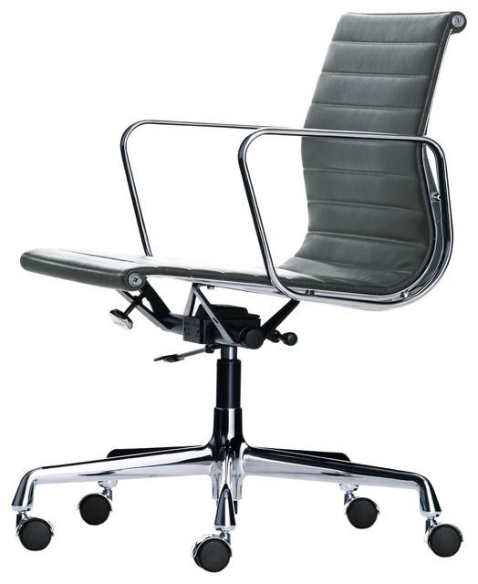 aluminium group ea 117 stoff drehstuhl mit weichen rollen. Black Bedroom Furniture Sets. Home Design Ideas