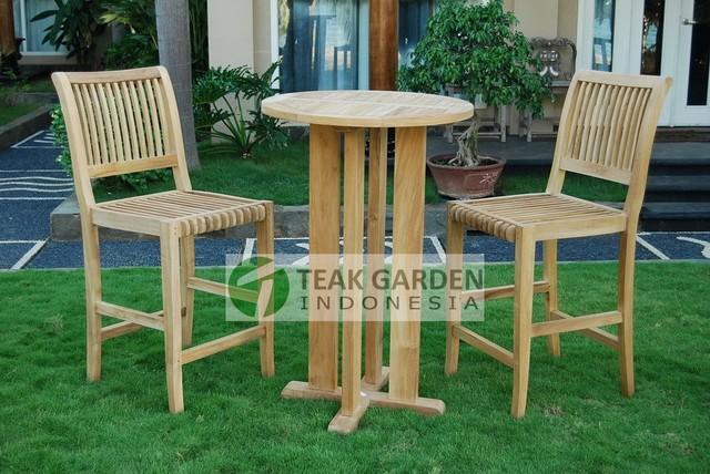 teak garden furniture teak bar set contemporary