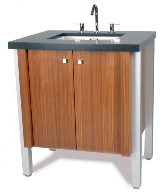 Lex vanity modern bathroom vanities and sink for Bathroom consoles and vanities