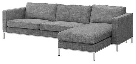 Karlstad Sofa And Chaise Lounge Scandinavian Corner Sofas By Ikea
