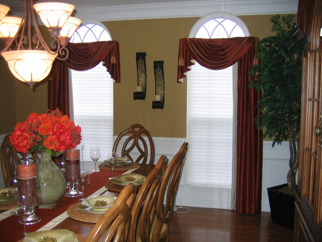 dining room curtain designs | Dining Room Drapes