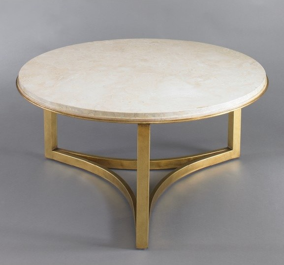 Milo Coffee Table Travertine Contemporary Coffee Tables By