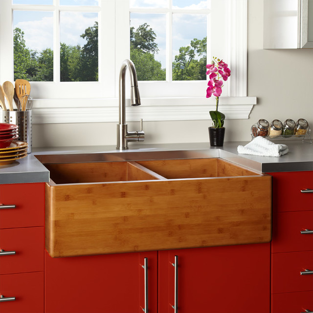 Country Farm Sink : Fresh Farmhouse Sinks - Farmhouse - Kitchen Sinks - Cincinnati - by ...