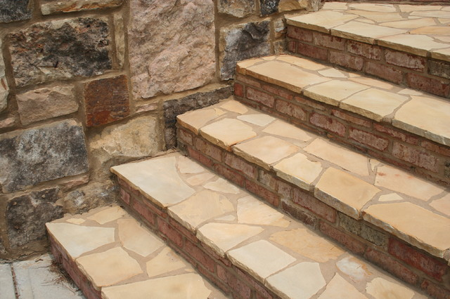 Stairs & Steps Traditional Atlanta by Georgia Landscape Supply