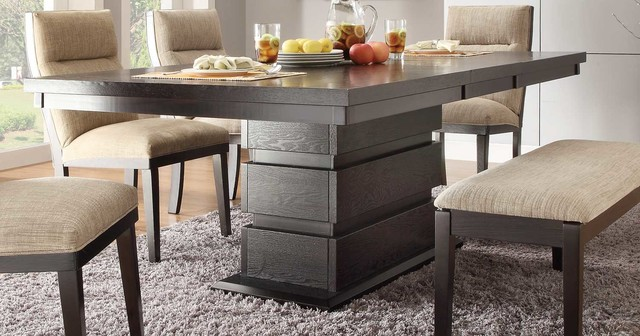 Tanager Dark Espresso Dining Table Modern Dining