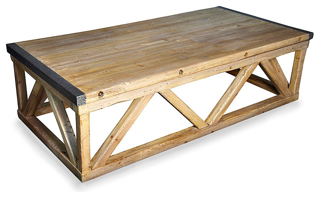Benton Coffee Table Transitional Coffee Tables