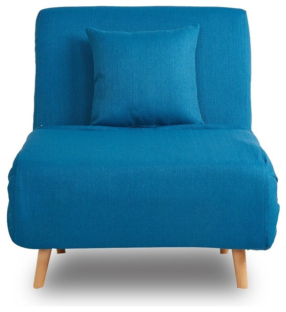 fauteuil convertible design adron couleur bleu scandinave. Black Bedroom Furniture Sets. Home Design Ideas