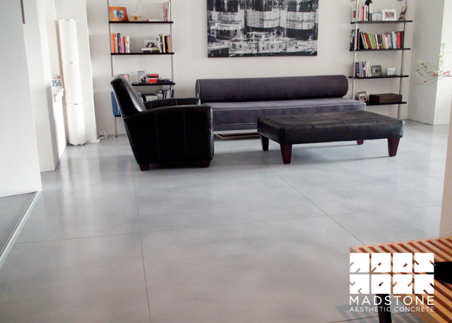 Polished Concrete Floors In Boston Loft Modern Other