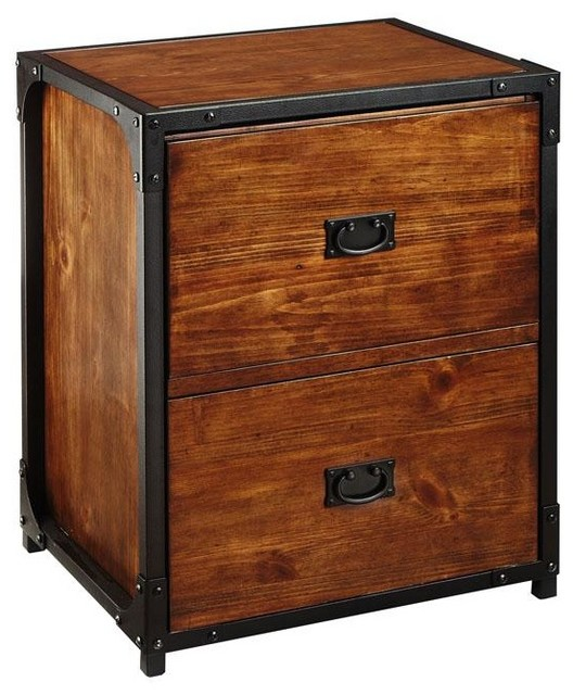 Industrial Empire File Cabinet - Traditional - Filing ...