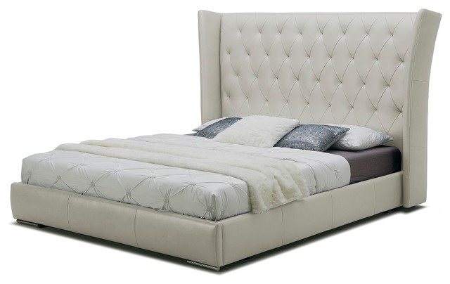 The Donovan Bed Transitional Panel Beds By Sovini Furnishing