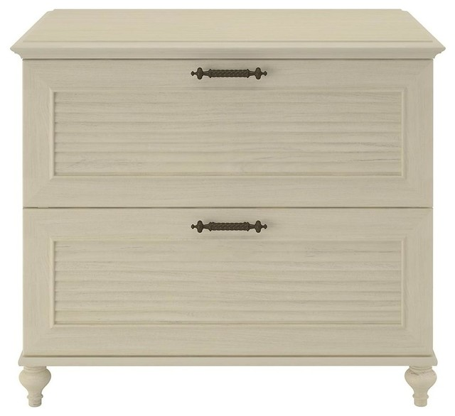 ... Cabinet (Driftwood Dream White) - Traditional - Filing Cabinets - by