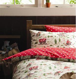 Reversible Duvet Set Spot/Cowboy - Modern - Kids Bedding ...