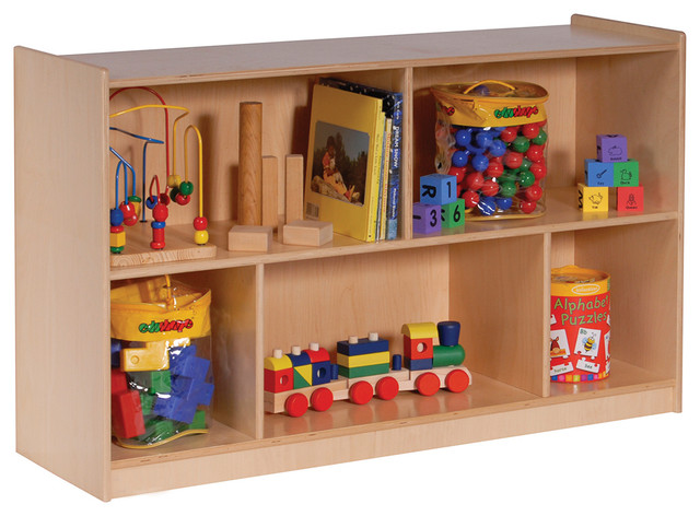 Mobile Toy Storage Cabinet 32 Quot W Single Contemporary