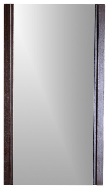 Model  21quot Cherry Mirror  Transitional  Bathroom Mirrors  By Foremost