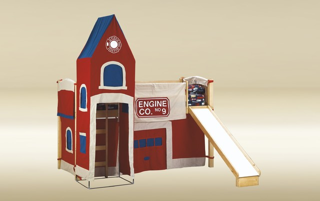 fire department twin loft bed 2